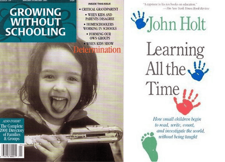 Growing Without Schooling and Books by John Holt