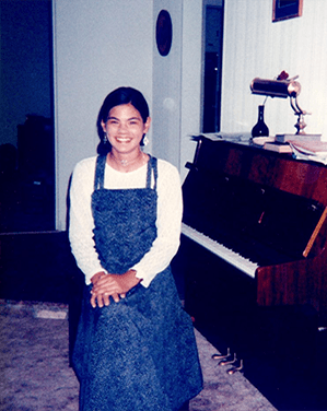Karen's teen years enjoyed writing in journals and playing the piano
